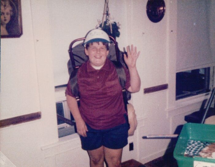 I Was Evidently The Reference Model For The Kid From Up! Circa 1985