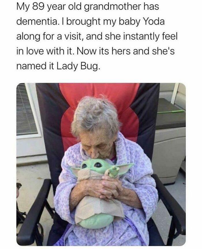 Baby Yoda And Granny