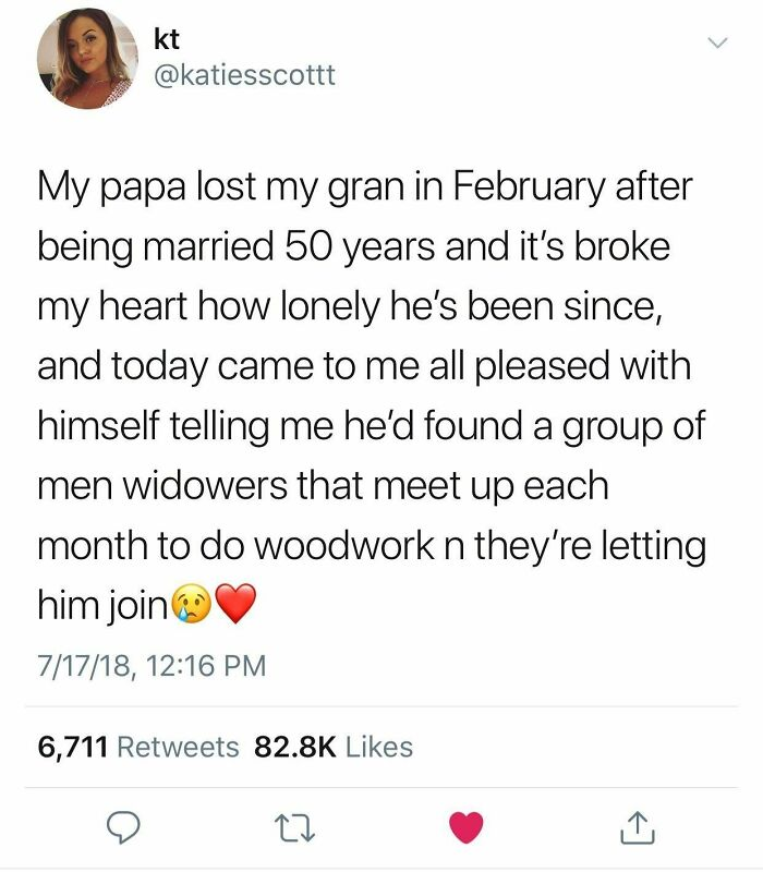 Grandpa Joins Local Woodworking Group