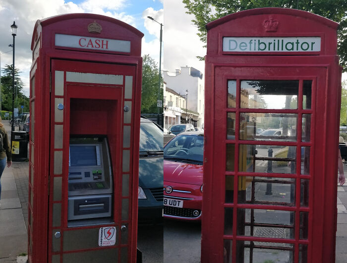 These Two UK Phone Booths Have Been Repurposed