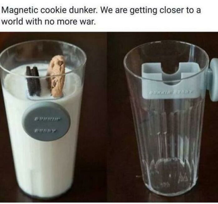 This Magnetic Cookie Dunker