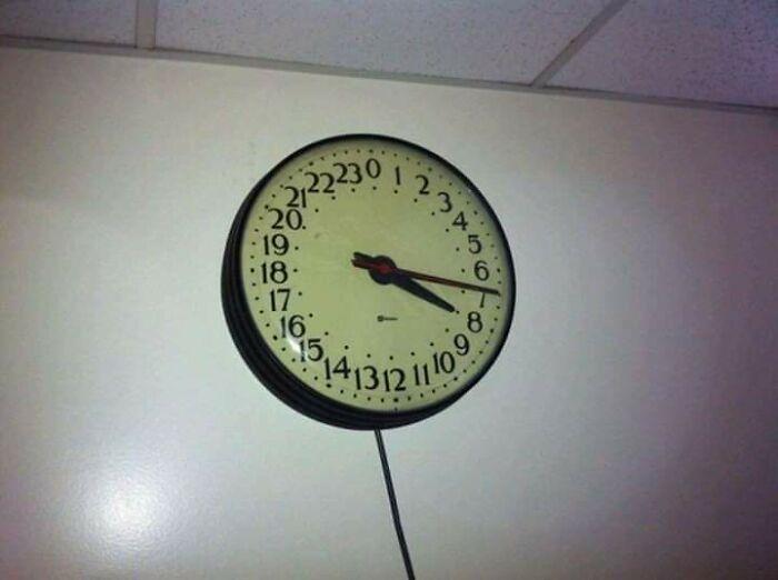 A 24-Hour Clock...