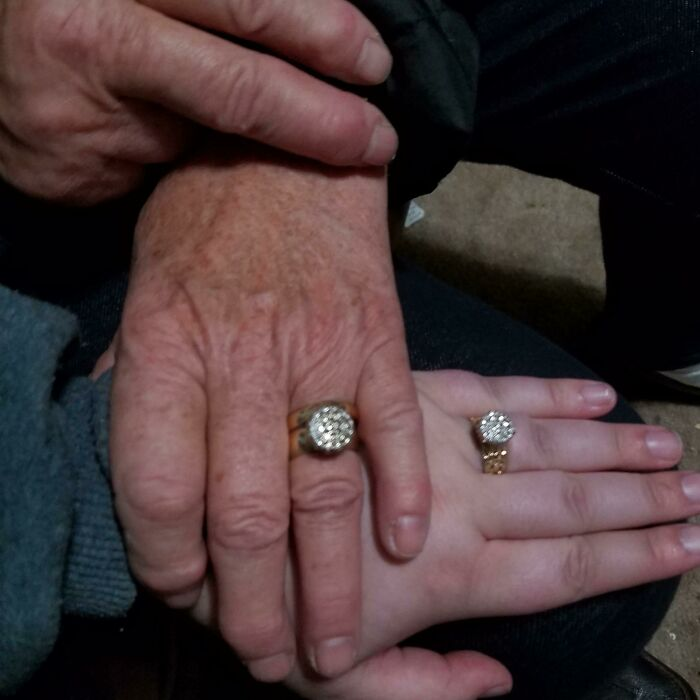 My Grandma Has A Ring That Is Her Most Prized Possession. She's Always Said One Day She Would Pass It Down To Me