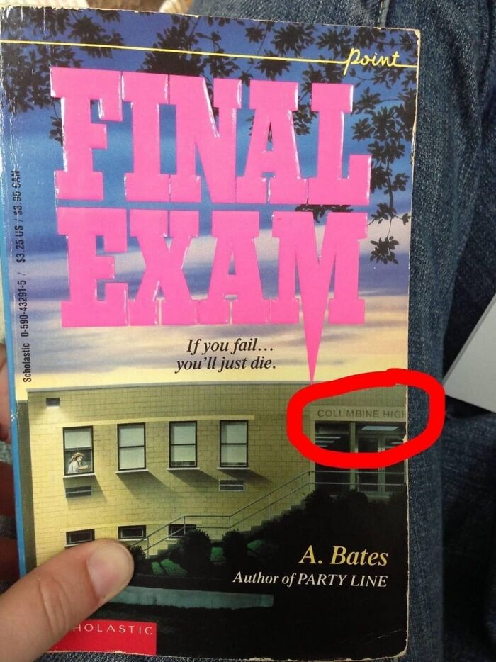 This Book Released In 1991 Had An Unfortunate Cover