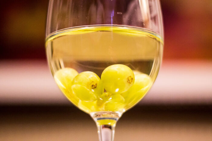 Keep Some White Grapes In The Freezer. You Can Use Them As Ice Cubes In Your White Wine, And When You Finish, You Get To Eat A Wine-Infused Grape!
