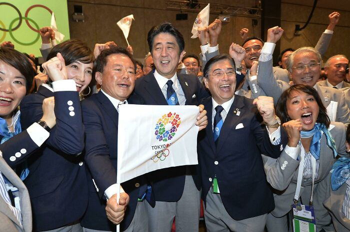 Japan Expressing Happiness About Winning Bid To Host 2020 (2021) Olympics Back In 2013