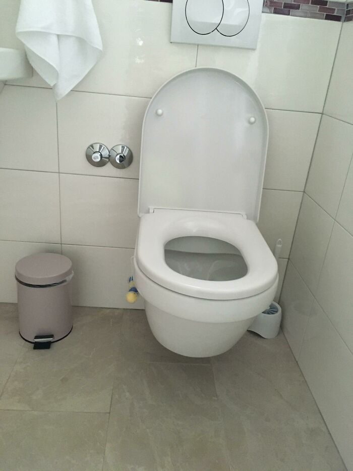We Were Wondering Why The Toilet Wasn't Smelling Like Lemons Like It's Supposed To...