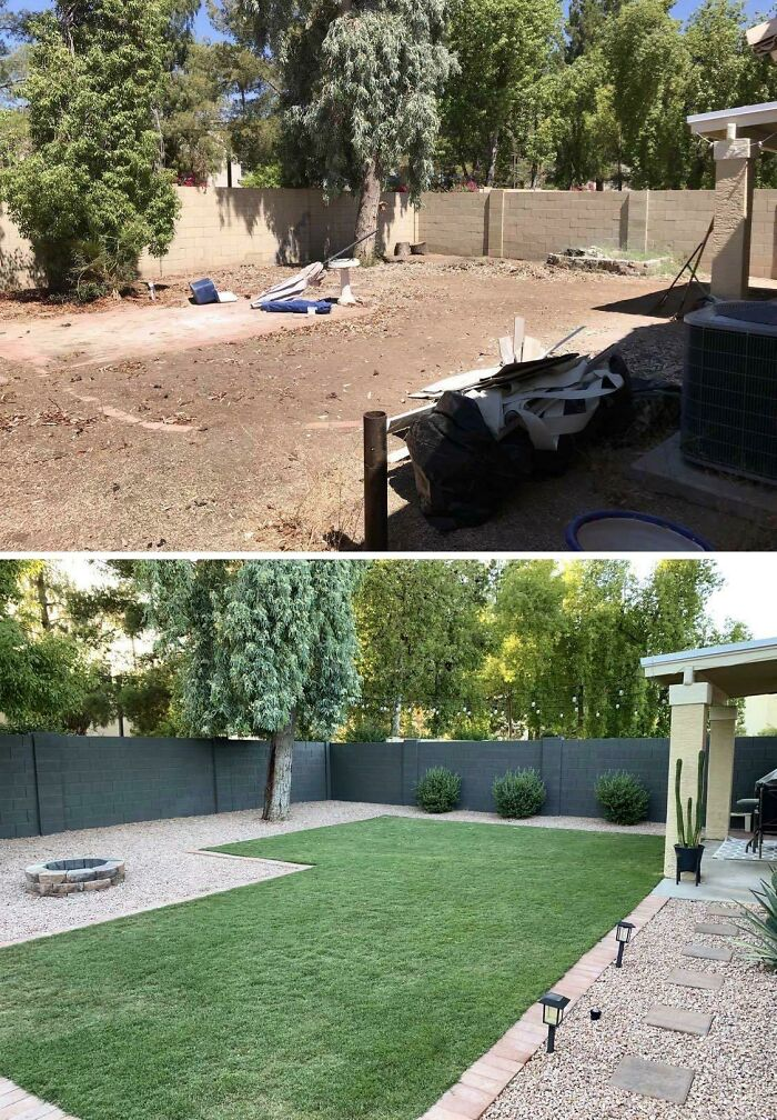 My Husband And I DIY'd Our Backyard In Phoenix