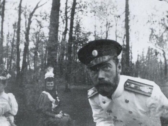 One Of The Many Selfies That Emperor Nicholas II Took Throughout His Life, (1868-1918)