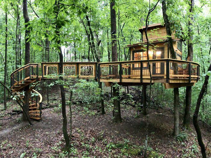 I Built A Backyard Treehouse As A Quarantine Project