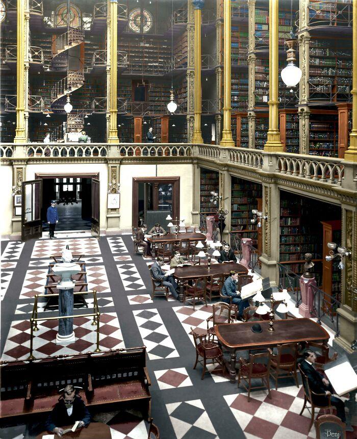 Biblioteca pública de Cincinnati 1871-1955