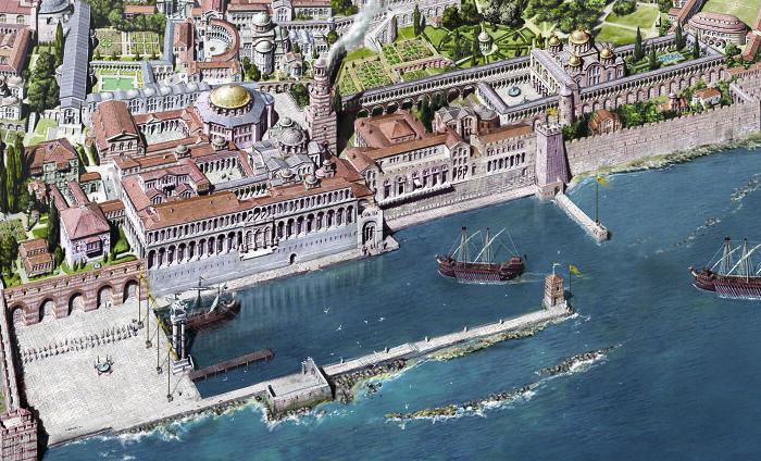 Palacio imperial de Constantinopla, siglo XII