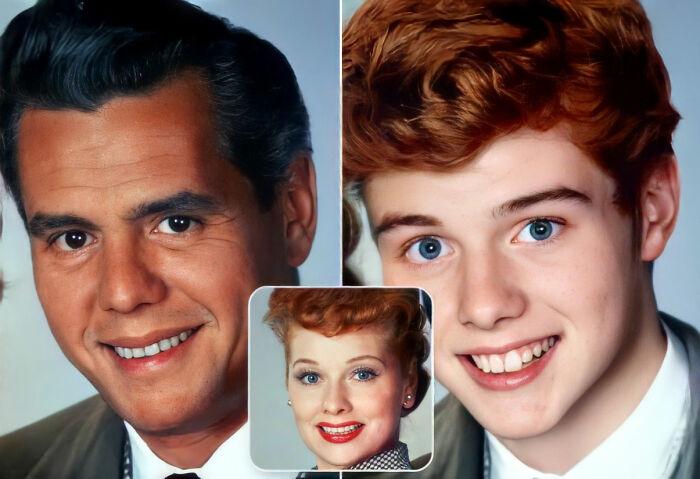 Ricky Ricardo y Lucy Ricardo (I Love Lucy / Yo amo a Lucy / Te quiero, Lucy)