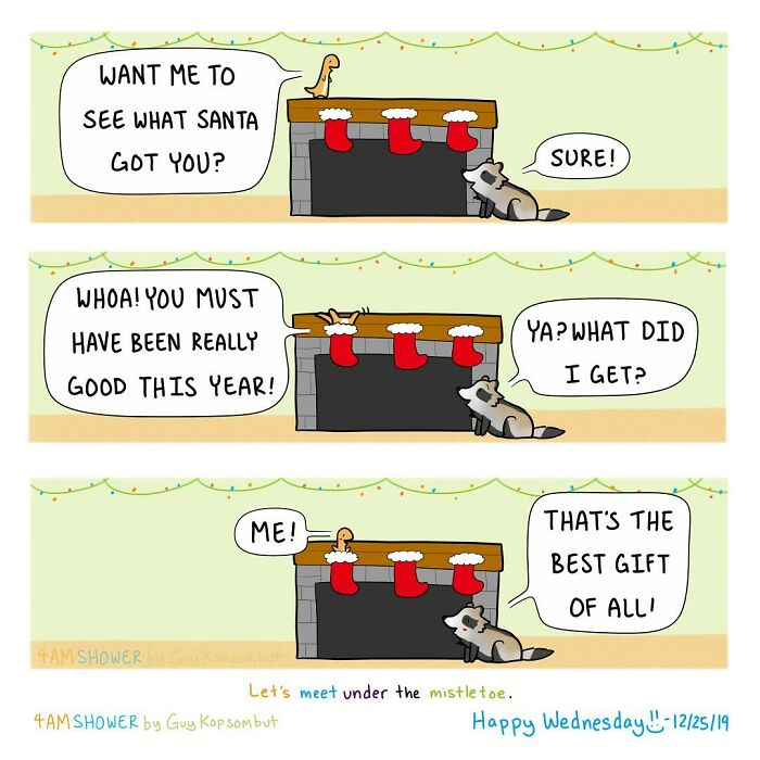 Cute-Comics-Guy-Kopsombut-4amshower