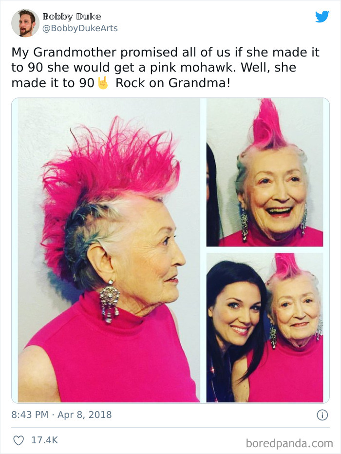 Super Cool Grandmother