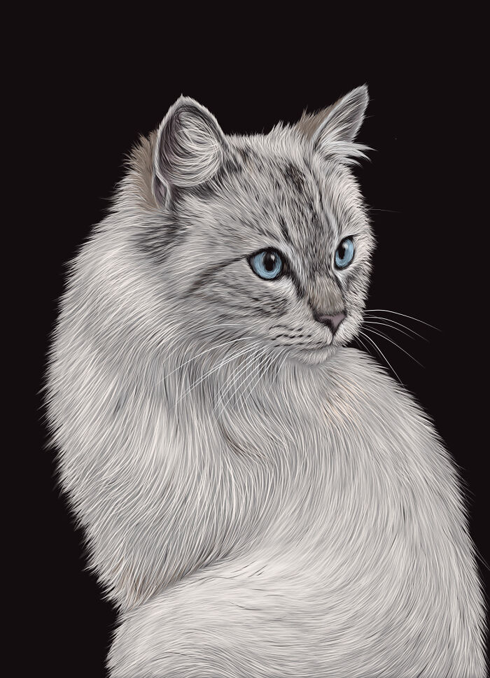 Nermal (Adobe Fresco)