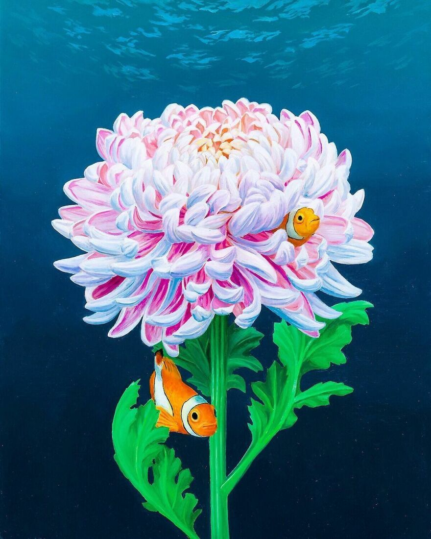 Artist Draws Inspiration From Nature To Make His Surreal Paintings