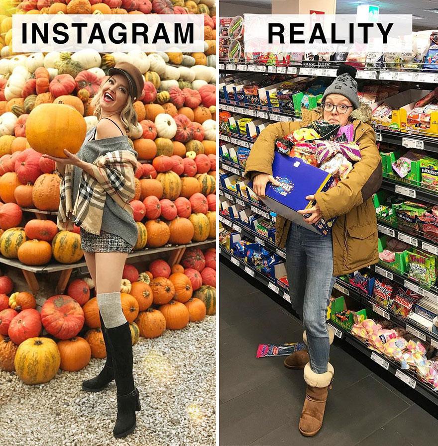 Instagram-vs.-Reality-Photo-Series-Geraldine-West-Part-2