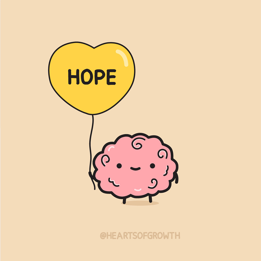 My 15 Doodles To Spread Hope And Mental Health Awareness