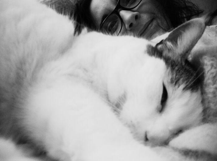 Totoro Chillin' With Mama