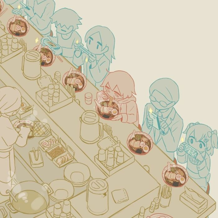 40 Powerful Illustrations By Japanese Artist That Will Make You Think (New Pics)