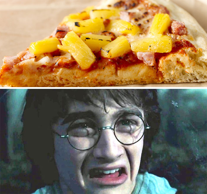 Proper Reaction (J/K Pinneaple Pizza Is A-Ok)