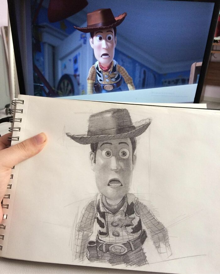 25 Pop Culture Characters As Amazing Pencil Drawings Clsamet