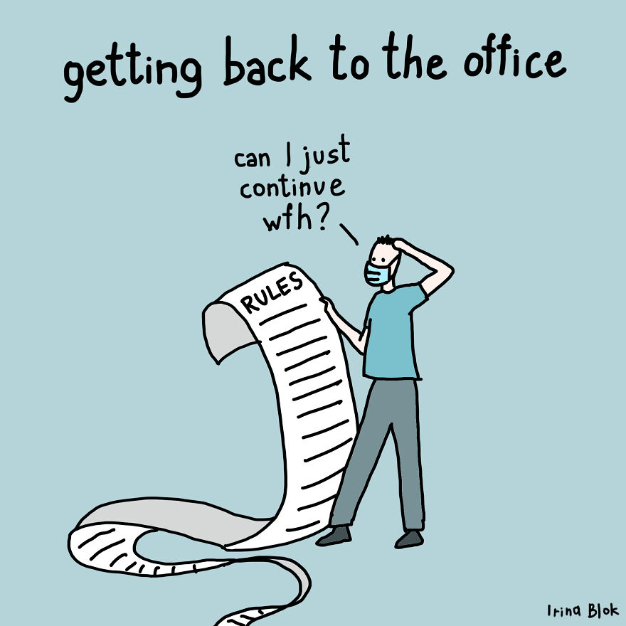 Getting Back To The Office