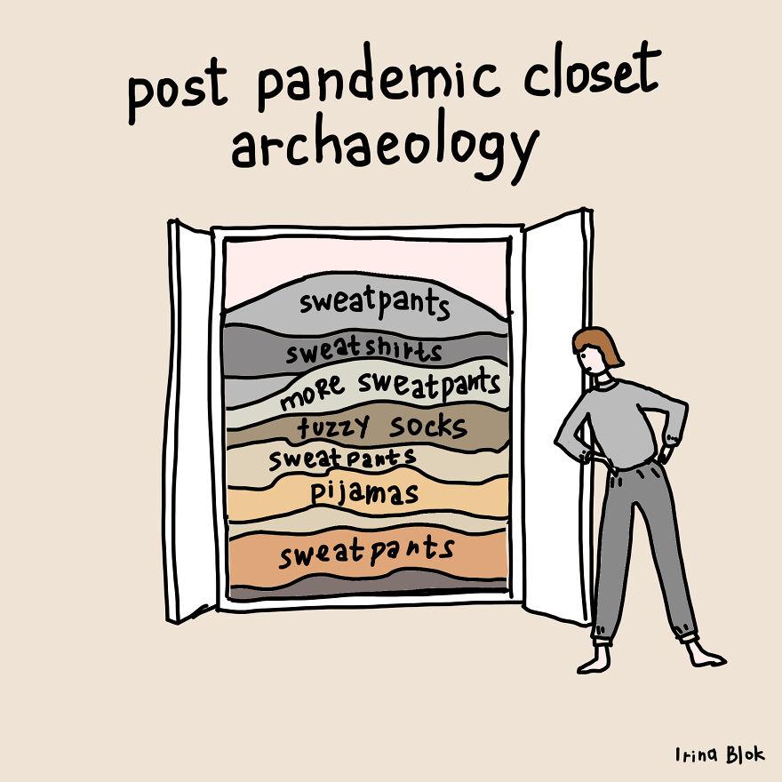 Post Pandemic Closet Archaeology