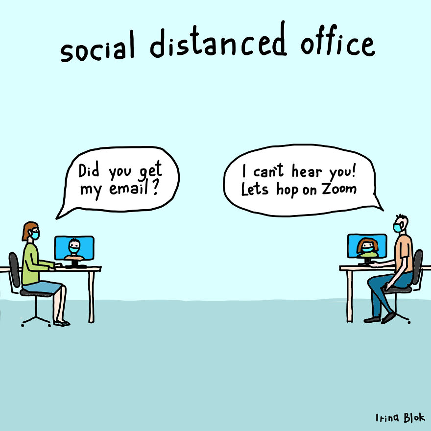 Social Distanced Office