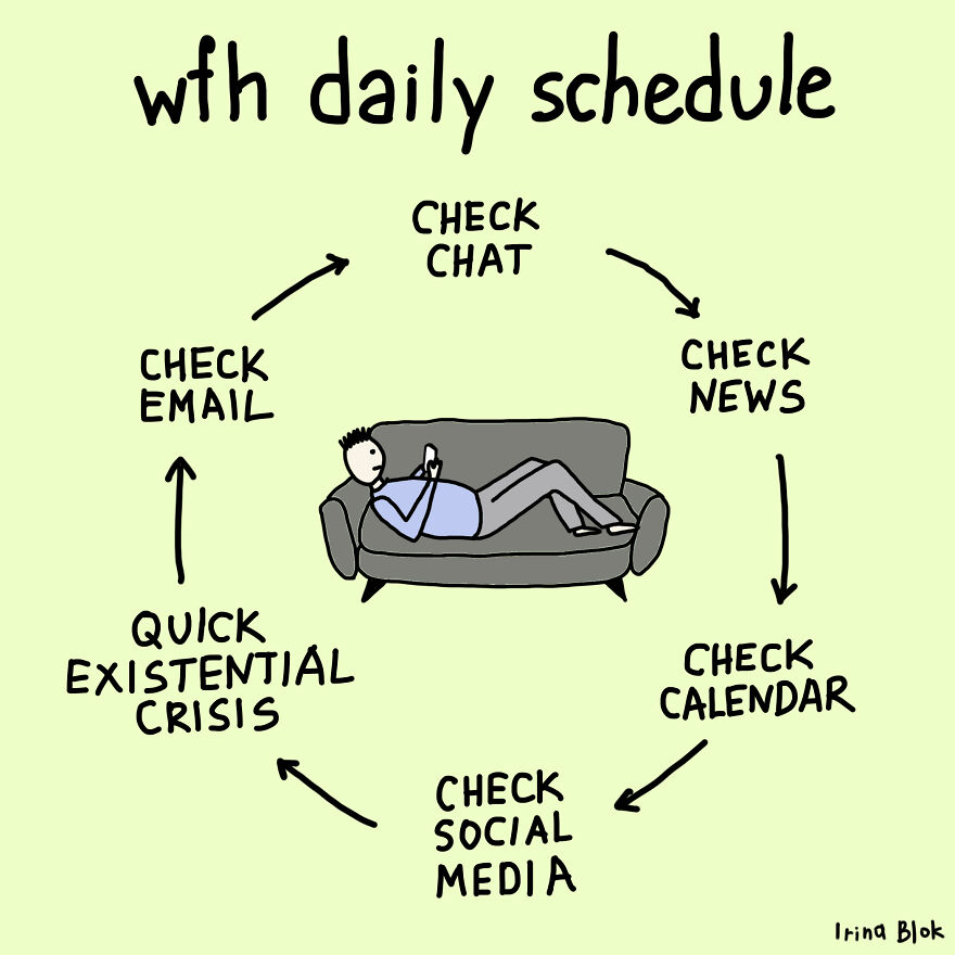 WFH Daily Schedule