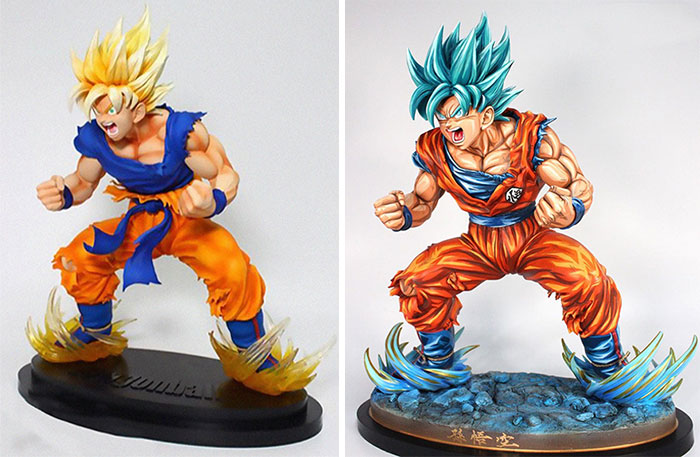 Artist Transforms Generic Anime Figurines And They Look Like They Escaped A Manga (43 Pics)