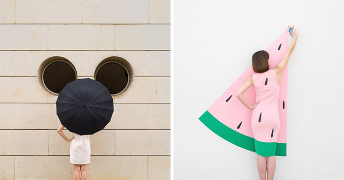30 Shots Combining Perfectly Executed Poses And Interactions With Architecture By A Photography Duo Couple