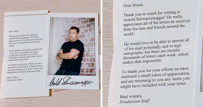 230K People On Twitter Are Here For The Response This Student Received From Schwarzenegger's Team After Writing Him A Letter