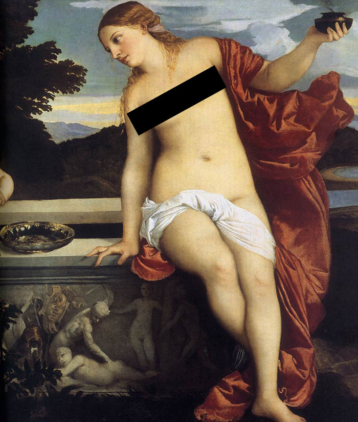 """""""If She's Blonde And Got Thicc Thighs, It's A Titian"""""""