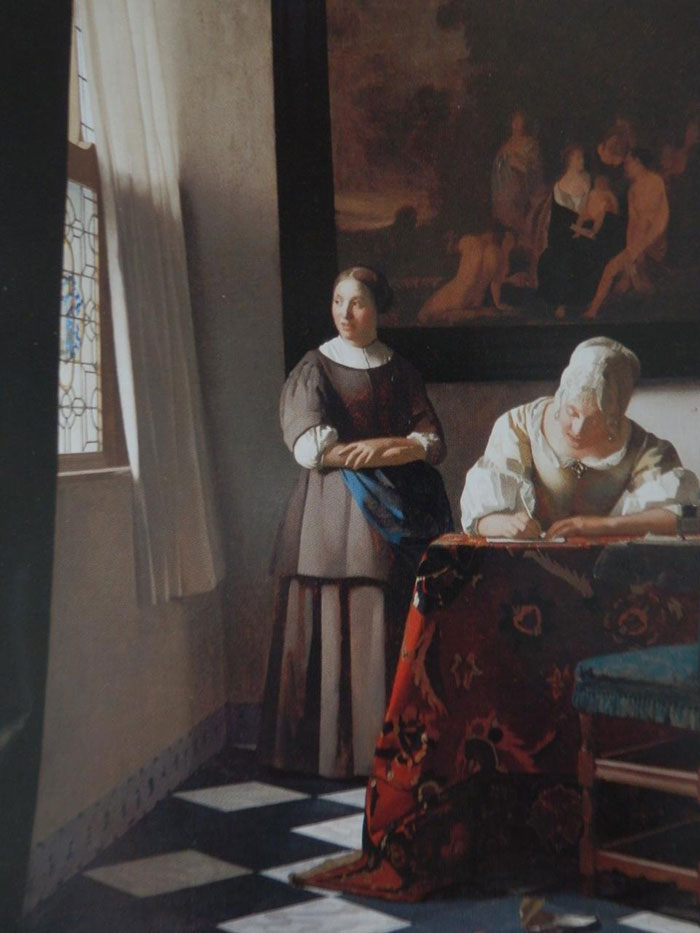 """""""If There's A Room With Some Nice Furniture, A Window, And Some Women Just Going About Here Everyday Business, It's A Vermeer"""""""