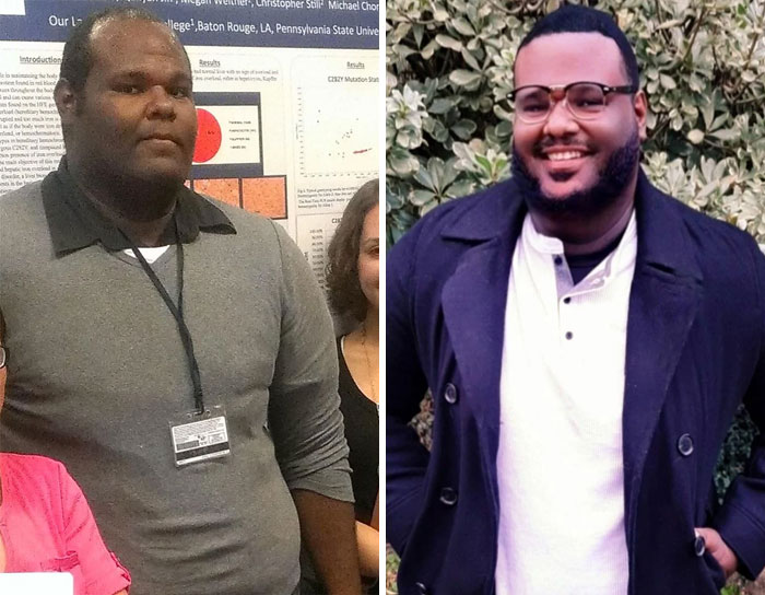Me At 25, College Dropout, Living In My Car vs. Me At 33, About To Finish My Phd!