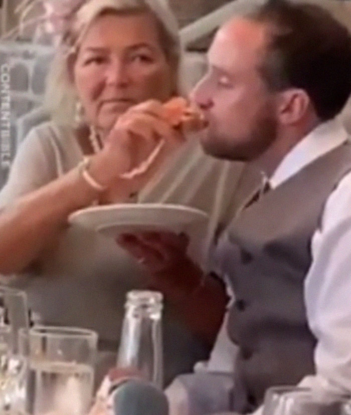 Dude Got So Drunk At His Wedding That His New Mother-In-Law Had To Feed Him