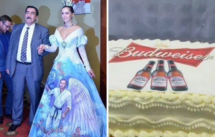 People Are Sharing Pics From The Most Tasteless Weddings They've Been To