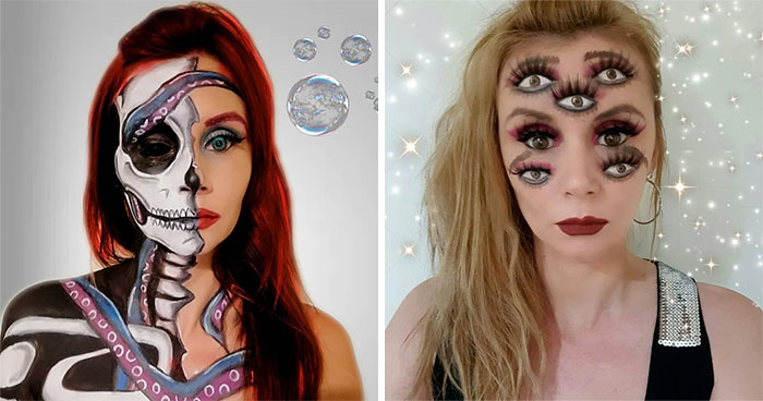 Here Are My 70 Makeup Transformations And Optical Illusions