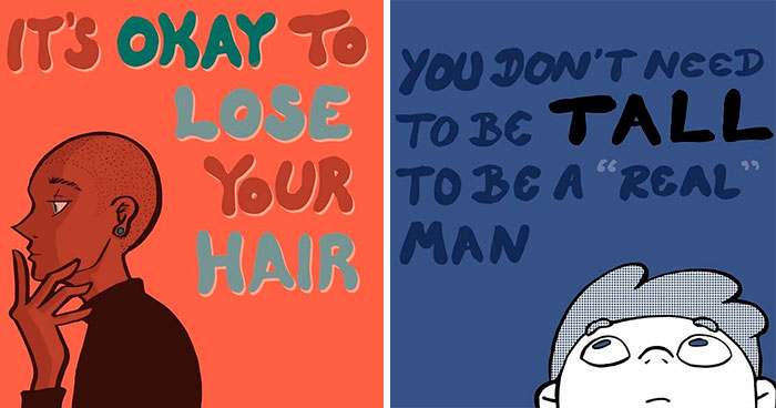 """Male Body Image Issues Are Important:"" 30 Illustrations By BoPoLena"