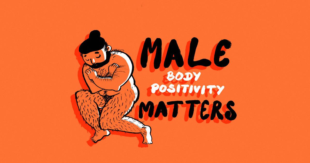 «Los problemas de imagen corporal masculina son importantes:» 30 Ilustraciones de BoPoLena