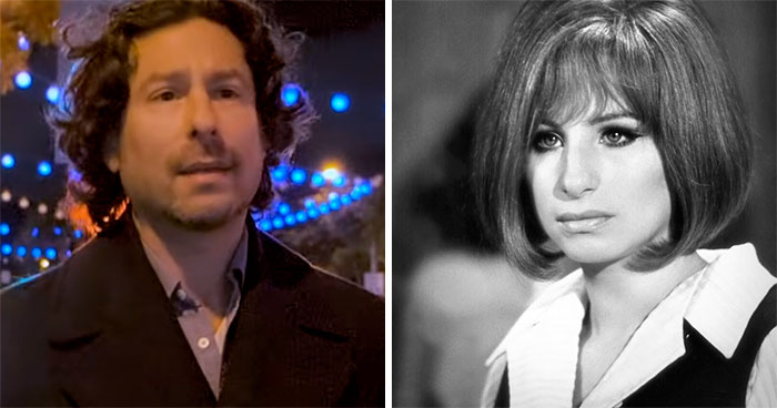 Jason Gould y Barbra Streisand