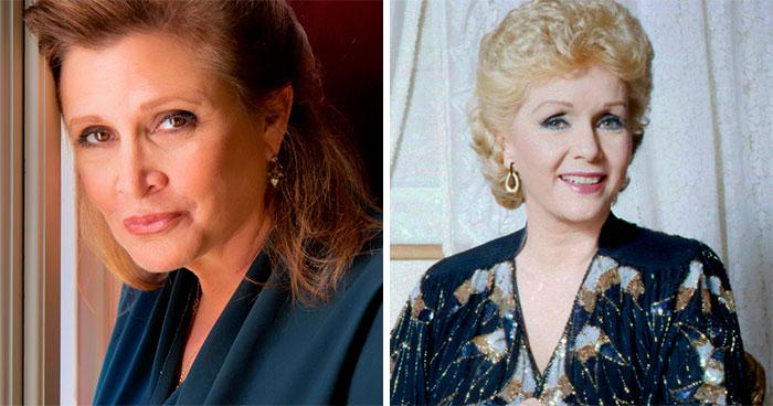 Carrie Fisher y Debbie Reynolds