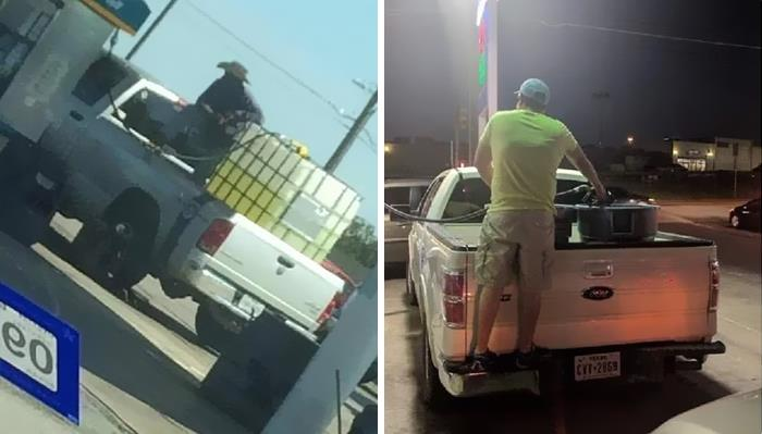 People Stockpiling Gasoline And Creating An Unnecessary Shortage
