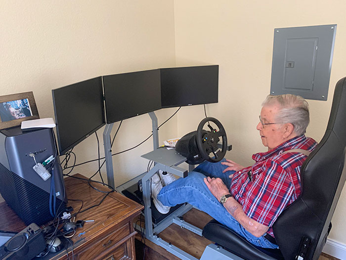 I Found Out Today That My Grandpa Ordered A Better Gaming Rig Than Myself And Any Of My Friends