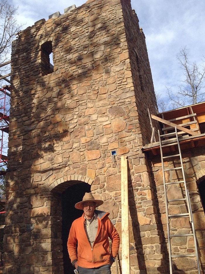 My Grandpa Is A Retired Mathematician. He Got Bored, So He Decided To Build A Castle By Hand. It's Been Like 4 Years, But He's Gettin' There
