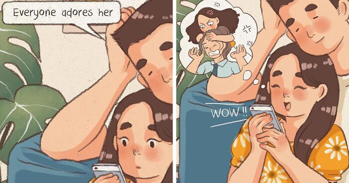 Artist Draws Wholesome Comics About Being In A Relationship (66 New Pics)