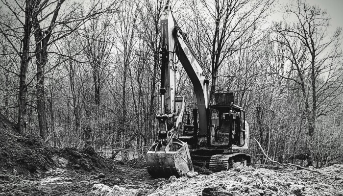 I Took Pictures Of My Dad's Excavator During A Break When He Was Digging A Basement