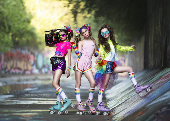 I Created An '80s Roller Skating Shoot To Relive My Childhood (19 Pics)